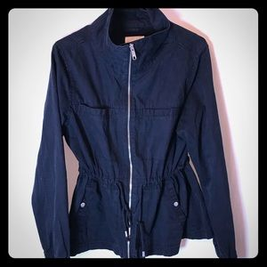 Classic Black Outerwear Utility Jacket Old Navy L